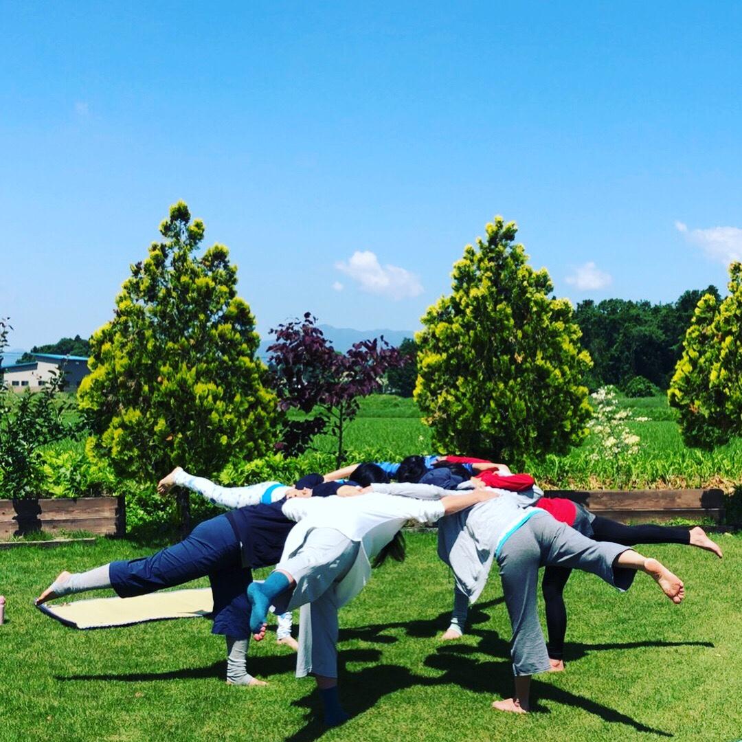 今年も第3回【ガーデンヨガinベターデイズ】~グリーンスムージー付き~開催決定 6/1