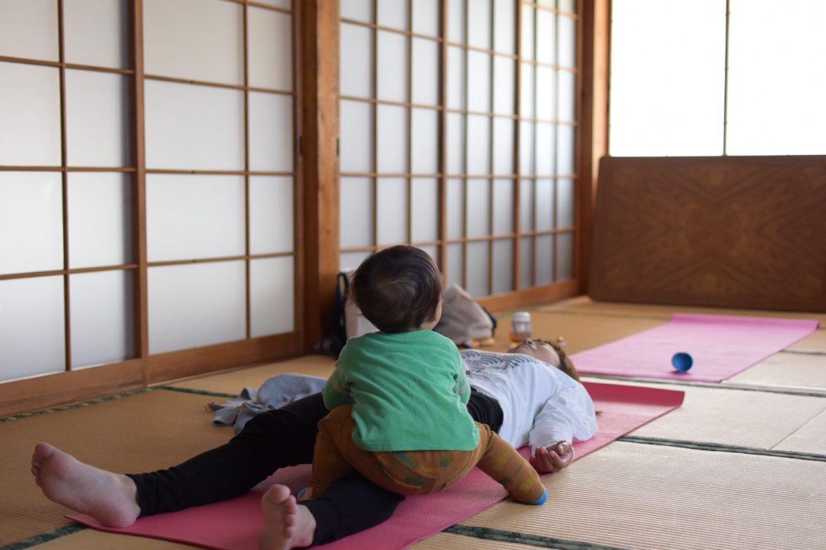 赤ちゃんと一緒に参加できる 【ママヨガ】11月